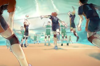 Thumbnail for the post titled: Welcoming The Volley Ball Craze